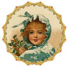 ❤️🌺💕 Images Vintage, Vintage Pictures, Vintage Cards, Vintage Postcards, Victorian Christmas, Vintage Christmas Ornaments, Vintage Holiday, Christmas Crafts, Christmas Past