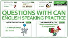 Questions with CAN - English Speaking Practice