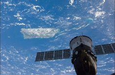 Puerto Rico!  Foto tomada por el Dr. Joseph Acabá en la International Space Station.