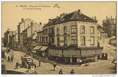 Uccle - Ukkel :  Chaussée d'Alsemberg et l'ancien Dieweg