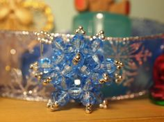 Hand Beaded Vintage Ornaments...A New Project Maybe