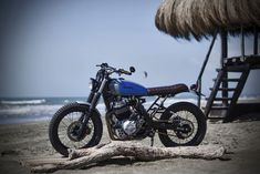 Beach Body: The Honda Dominator, Italian style