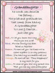 Graduation Granddaughter Poems Granddaughter Poems Kylie S Graduation Graduation Poems