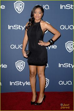Keke Palmer: InStyle Party Pals!