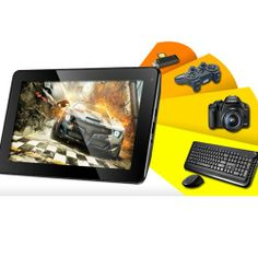 PIPO S1 8GB Rockchip RK3066 Dual Core 1.6GHz DDR3 1GB 7inch Capacitive Screen Android 4.1 Camera HDMI Tablet PC...