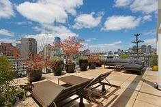 On aime la terrasse sur le toit_ l'aspect 'privatif'