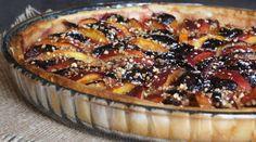 Tarte aux brugnons, aux figues et à la noisette Pie, Desserts, Food, Berry Pie, Sweet Pie, Pies, Fresh Figs, Fig Tree, Sweet Recipes