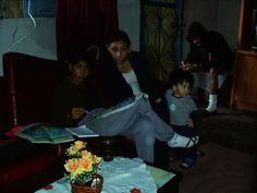Claudia, Suelen em casa de Geraldo 2004