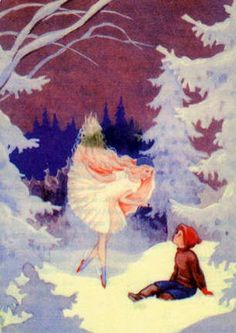 children in art history Christmas Artwork, Winter Fairy, Winter's Tale, Vintage Christmas Cards, Scandinavian Christmas, Children's Book Illustration, Conte, Christmas Time, Christmas Treats