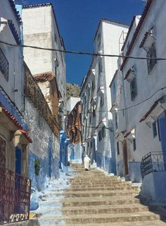 Mike Sowden photo:  Chefchaouen, Morocco, Africa #blue #city #travel #photography #beauty #architecture