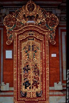 Door at Art Gallery, Bali, Indonesia   ..rh