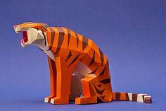 De superbes animaux en papier by Estudio Guardabosques