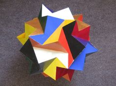"""GEOMETRIC MODEL: """"NAVIJO TALISMAN"""" by McClure...made from one single shape"""