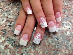 anchor nail art - 60 Cute Anchor Nail Designs | Art and Design