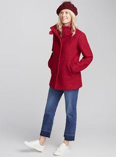 Le manteau laine bouclée | Contemporaine | Magasinez des Manteaux en laine pour Femme | Simons