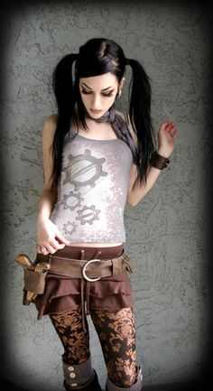 steampunk couture                                                                                                                                                                                 More
