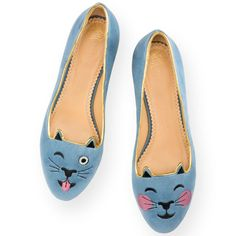 Charlotte Olympia's classic kitty flats are also emoji-obsessed! Shop these shoes (they run $525 a pop) along with two clutches that are also apart of the range.