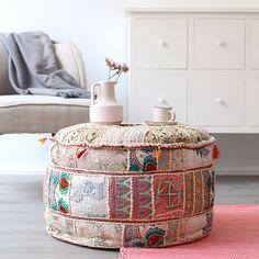 Estilo étnico: cojines bordados | Kenay Home