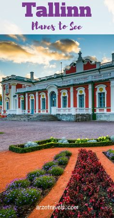 Places to see and do in Tallinn, Estonia. Kadriorg Palace. Europe.