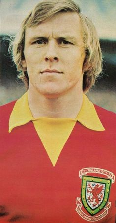 John Roberts of Wales in Wales Football Team, Welsh Football, Gary Speed, Birmingham City Fc, Cymru, Rugby, 1970s, Soccer, Swans