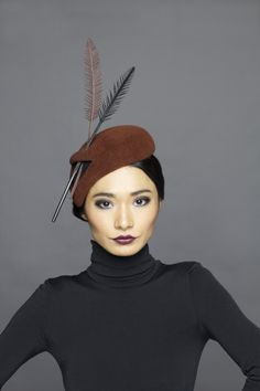 Lock & Co Hatters, Couture Millinery A/W 2013 - Theda Bara