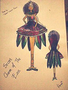 Bird gown
