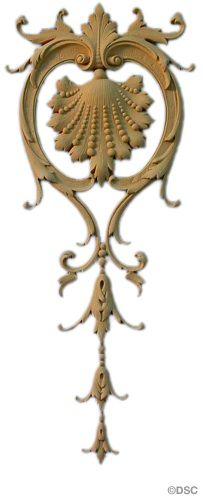 Decorators Supply French Renaissance Vertical Design