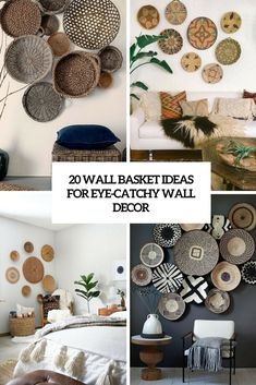 Home Decor Baskets Living Room 20 Wall Basket Ideas For Eye Catchy Wall Dcor Shelterness. Home Decor Baskets Living Room 20 Wall Basket Ideas For Eye Catchy Wall Dcor Shelterness - Interior Design Ideas Home Decor Baskets, Baskets On Wall, Diy Home Decor, Storage Baskets, Decorative Wall Baskets, Storage Organization, Basket Decoration, Wicker Baskets, Living Room Interior