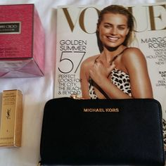 MY SUMMER LUXYRY...BEAUTY FASHION World Things&STYLE. 5.8.2016  SEE U. SMILE  #vogue #luxury #ysl #jimmy choo
