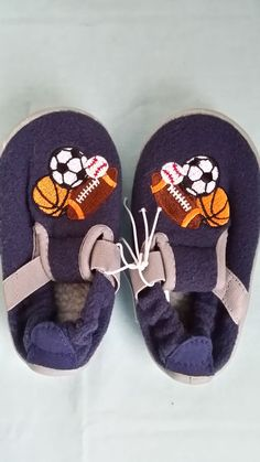 Ball Sports Football Toddler Infant Shoes Booties – SMALL - NEW #Booties