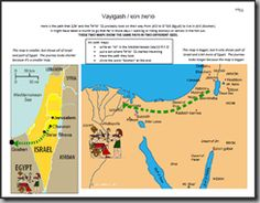 Tracing descent into Egypt