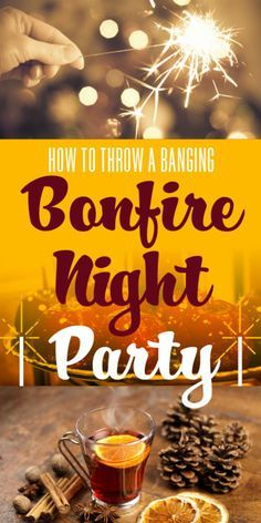 Whether you're having a bonfire in your garden or heading out to a fireworks display, after all that oohing and aahing in the cold, continue the celebrations by inviting your friends round for some whizz-bang...
