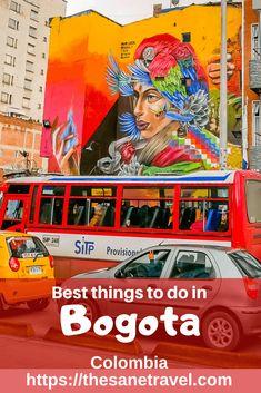 Best things to do in Bogota South America Destinations, South America Travel, San Bernardo, Colombia Travel, Amazing Destinations, Travel Destinations, Travel Guides, Travel Tips, Thing 1
