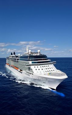 Celebrity Eclipse. Modern luxury ship in the Celebrity Cruises fleet.
