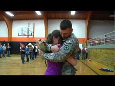 Returning Soldier Gives Daughter's The Surprise Of A Lifetime