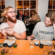Afgelopen donderdag waren we op een Masterclass van IZAKAYA waar JP hier helemaal stuk ging om Eveline's anecdote.  #IZAKAYA #Sushi #Fashion #foodblogger #foodie #sushi #food #japanese #delicious #Amsterdam #CityguysNL