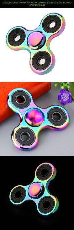 Rainbow Spinner Fidget Hand Gadget Fingertip Gyroscope Stress Release Bearing