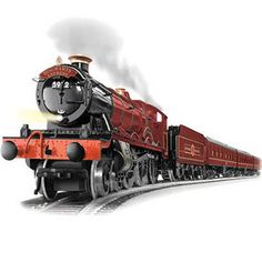 Harry Potter Hogwarts Express Electric Train Set by Lionel - I so want this for around my Christmas tree!