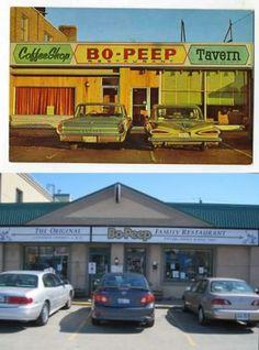 Bo-Peep Restaurant - Kingston Road west of Midland Scarborough Toronto, Scarborough Bluffs, Canadian Things, Canadian History, Bo Peep, Canada Travel, Landscape Photos, Kingston, Ancestry