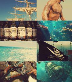 assassin's creed black flag Edwards Kenway, Assassins Creed Black Flag, Videogames, Pirates, Bond, Video Games, Gaming
