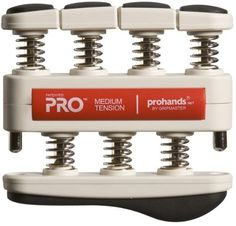 AccuNet Gripmaster Prohands Pro Hand Exerciser Red Medium by AccuNet -- Check out the image by visiting the link.