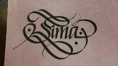 Calligraphy free style