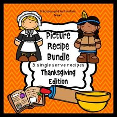 Picture Recipes:Visual Recipes:Cooking with young children and children with special needs is such a fun and beneficial activity. Picture recipes are great for following directions and measurement skills and the language stimulation possibilities are endless.