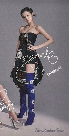 Badass Outfit, Black Pink Dance Practice, Rapper, Strapless Dress, Calvin Klein, Stylists, Model, Outfits, Dresses