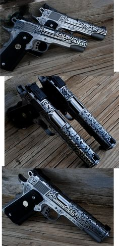 Colt 1911 (I never purchase a gun just to collect, they must shoot good; otherwise what would be the purpose of having it then?)  I demand functional quality from all things, I need only to purchase once.