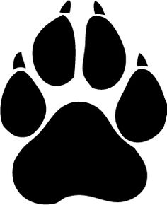 Love my Panther! Paw Print Clip Art, Wolf Paw Print, Cat Paw Print, Tiger Paw, Lion Paw, Panther, Cat Paws, Cat Tattoo, Cool Tattoos