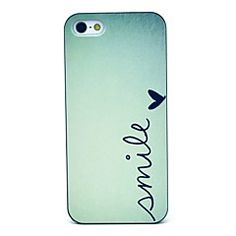 Smile Pattern Hard Case for iPhone 5/5S – USD $ 1.99