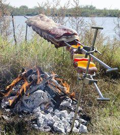 Pit Bbq, Backyard Bbq Pit, Fire Pit Grill, Bbq Grill, Cooking Over Fire, Fire Pit Cooking, Outdoor Oven, Outdoor Cooking, Parilla Grill