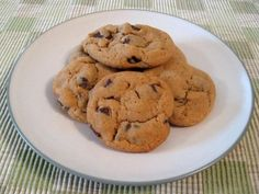 Peanut Butter Chocolate Chunk Cookies from Food.com:   These are impossible to stop eating.