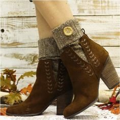 aba3b101c57 89 Best Boot Cuff, Boot cuffs, Boot Toppers images in 2018 | Knit ...